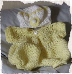 tenue crochet - bébé bonheur corolle