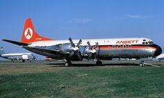 ANSETT Lockheed L-188A Electra (VH-RMB)