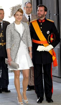 Hereditary Grand Duchess of Luxembourg | The Royal Hats Blog