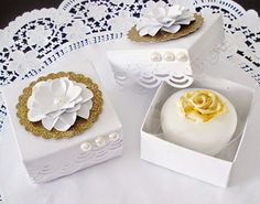 Crafts by Lúcia  caixa bem-casado, scrap pasrty box, caxia de doces 05afb471ef