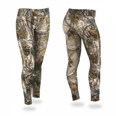 From camp fire to fishing boat, from deer stand to the pup tent to the game... we've got you covered in our Realtree Camo Zubaz legging! The famous Realtree camoflauge pattern is now available in our new Zubaz legging!
