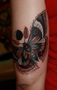 Moth / Traditional - Tattoo