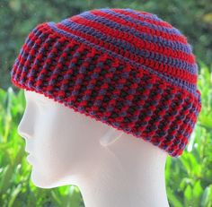 Ravelry: Chunky 2 Color Spiral Hat pattern by Zoe Deterding