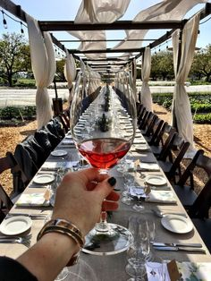 Farm-to-table pairing dinner at Kendall Jackson winery!
