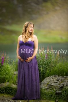 Maternity Wedding, Pregnant Wedding Dress, Maternity Gowns, Wedding Suits, Wedding Dresses, Chiffon Fabric, Photo Props, I Dress, Lilac
