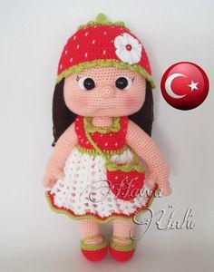 Türkçe Tarifa - Cílek Kiz Amigurumi Tarif
