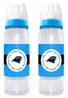 NFL Carolina Panthers 2 Pack Bottles Baby Fanatic 2fd241f07