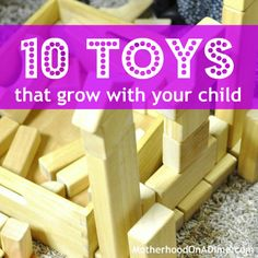 """These are toys that may be considered an """"investment"""" but they have lasted us through the preschool years and now into the later elementary years. They are awesome and can grow and change with your child!"""