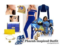 Pharah Overwatch Inspired Outfit