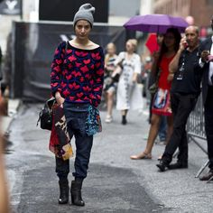 On the street.., New York | by #asiatypek #streetstyle #nyfw #fashionweek #mercedesbenzfashionweek