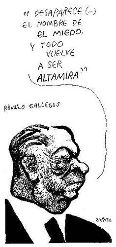 PEDRO LEÓN ZAPATA ,Caricatura 30 de octubre de 2002: En sus obras refleja una desproporción grotesca atacando la demanda social de la historia contemporánea de Venezuela.