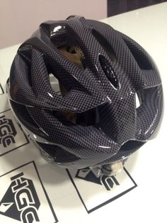 Casco film carbono Gris