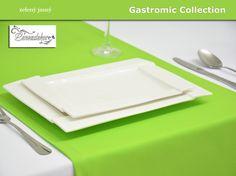 Běhoun na stůl- 24BG -jasně zelený- 40cm x 140cm