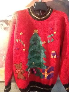 Christmas Sweater / Ugly Christmas Sweater / by thesoupison, $19.00