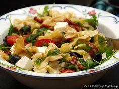 » Enkel pastasalat – til hverdag og fest!