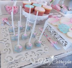 Shabby. Pink and Roses | CatchMyParty.com