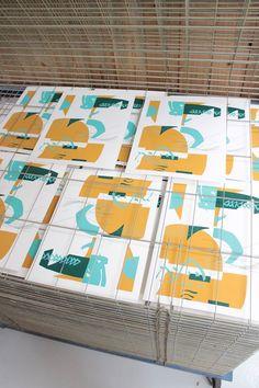 Atelier Bingo Screen Printing Process, Silk Screen Printing, Poster Prints, Posters, Bingo, Art, Impressionism, Atelier, Screen Printing Press