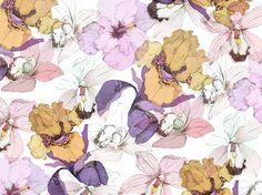 Pattern floral  (octubre 2014) http://instagram.com/danidahf