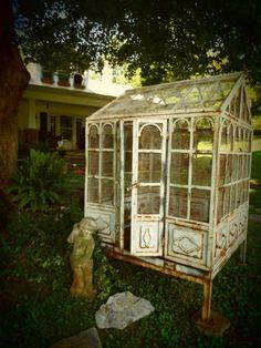 Rara la vuelta del siglo jardín de invierno-Jaula De Pájaro-Gorgeous