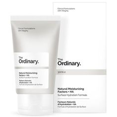 Buy The Ordinary Natural Moisturising Factors + HA 30ml - luxury skincare, hair care, makeup and beauty products at LOOKFANTASTIC.com with Free Delivery.