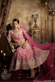 Tarun Tahliani's exquisite bridal lehenga collection.