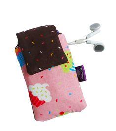 case para celular com bolsinho para fone de ouvido