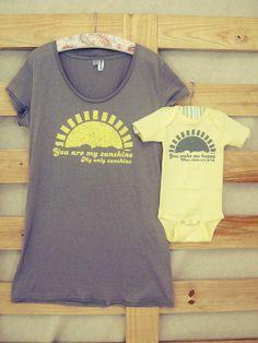 XXL/XXXL Mommy and Me Shirt Set by littletreetopsbaby on Etsy, $22.00