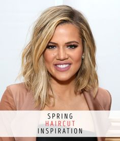 Want gorgeous hair just like Khloe Kardashian? In honor of it finally being spring, let's freshen up those 'dos.