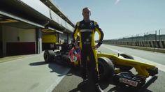 Renault - Robert Kubica Testing In Valencia (VIDEO)