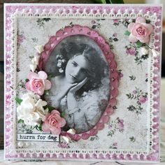 Papers, motive, stamps and flowers from Papirdesign