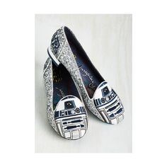 Irregular Choice Statement Thank the Maker Flat (€170) ❤ liked on Polyvore featuring shoes, flats, flat, loafers, silver, planet shoes, flats loafers, silver loafers, irregular choice shoes and galaxy shoes