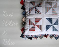 Pickup Some Creativity: Red, White and Blue