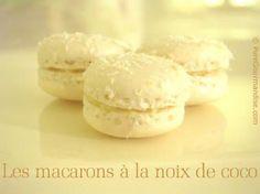 Macarons à la noix de coco Ganache Torte, Ganache Macaron, Cooking Chef, Cooking Recipes, Macaron Coco, Patisserie Fine, Opera Cake, Macaroon Recipes, Cute Desserts
