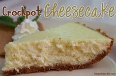 This is the best cheesecake we have ever made. Best Cheesecake EVER. This is an amazing crock pot cheesecake recipe all done in a slow cooker! Check it out! #cheesecake #crockpot