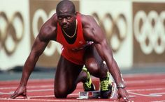 Ben Johnson is a Olympic Sprinter Campion