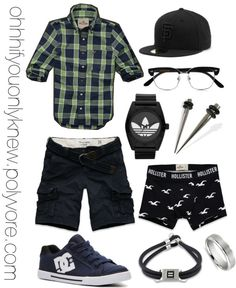 A fashion look from January 2013 featuring DC Shoes sneakers, adidas Originals watches and Blue Nile rings. Browse and shop related looks. Lesbian Outfits, Gay Outfit, Tomboy Outfits, Swag Outfits, Girl Outfits, Androgynous Fashion, Tomboy Fashion, Look Fashion, New Fashion
