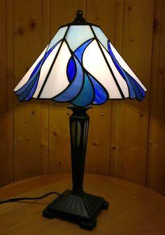 Lámpara de mesa Blue lagoon Ø 28cm