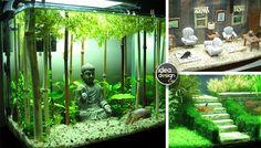 Decorazione originale acquario