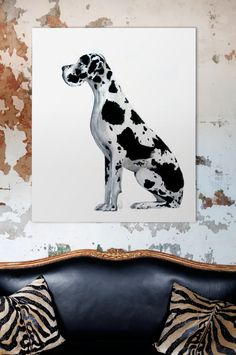 Gus the Great on white exclusively for Penny Farthing design House © Erica Smith