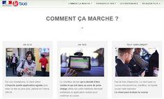 Paris  Smartphone = Le.taxi   L'État lance à Paris sa plateforme de taxis... calquée sur les VTC  Le gouvernement lance à Paris le.taxi l'application de réservation d'un taxi qui emprunte les codes de leurs concurrents VTC. Quelque 20.000 courses ont déjà été réalisées dans les autres villes où le service est implanté. Ça y est c'est fait.  http://le.taxi/  via Instagram http://ift.tt/2drKKtl A la une Actualité Civili Techno