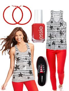 Memorial Day Teen Fashion