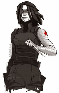Winter Soldier (Gender Swap) by Melissa Erickson Winter Soldier Cosplay, Soldier Costume, Marvel Vs, Marvel Comics, Geeks, Soldier Drawing, Captain America Winter, Avengers Quotes, Avengers Imagines