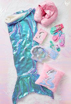Mermaid must-haves for her magical style.