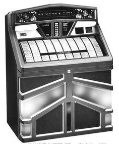 1988, Rowe-AMI's Model R-92 45/Compact Disc Jukebox [Jukebox Collector]