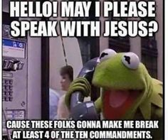 Amen. Funny Christian Memes, Christian Humor, Christian Girls, Work Memes, Work Humor, Funny Memes About Work, Funny Work, Funny Kermit Memes, Minions