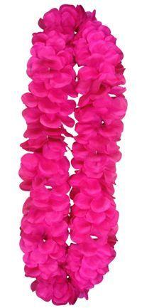 Hen Party Hot Pink Flower Lei