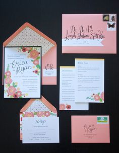 Wedding Sweets: Invitations and Faux Calligraphy