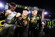 Tanner takes gold, Patrick silver, and Liam bronze in X Games LA 2013 Gymkhana Grind
