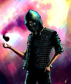 Watch Dogs 2 fanart - Wrench by ngenoART on DeviantArt Wrench Watch Dogs 2, Watch Dogs 1, Best Wallpapers Android, Gaming Wallpapers, Horse Watch, Hollywood Undead, Fan Art, Cool Backgrounds, Deviantart