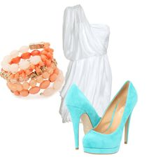 So getting an outfit like this when I can wear heels again!